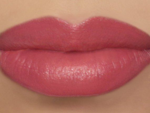 Photo of Zinnia – bright coral lipstick, vegan lipstick made from natural ingredients, cruelty free