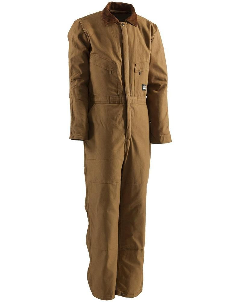 berne men s duck deluxe insulated coveralls tall 2xt on cheap insulated coveralls for men id=12230