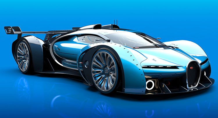 bugatti vision gran turismo los mejores autos bugatti pinterest. Black Bedroom Furniture Sets. Home Design Ideas