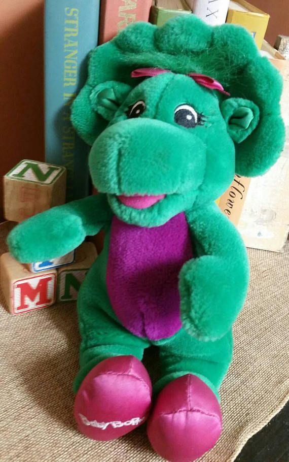 Baby Bop by Dakin Plush/1992 Lyons Group/Barney the Purple Dinosaur ...