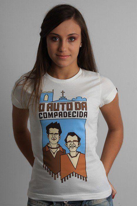 2f5c660a0 Camiseta O Auto da Compadecida - Não sei