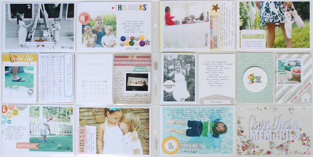 ** Chic Tags-blog**- layout by Stephanie Bryan- love the stiched sequins and the confetti filled pocket