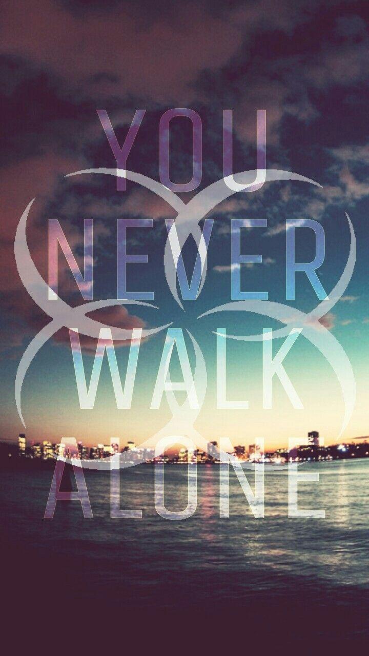 You never walk alone wings bts wallpaper bts for Wallpaper walk