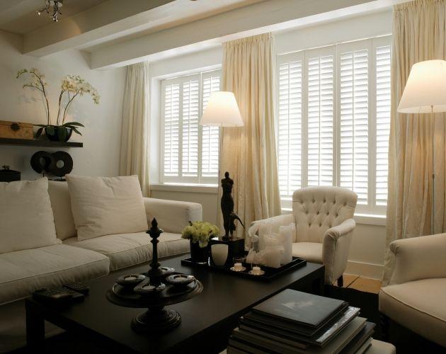 Woonkamer - Jasno Shutters & Blinds | Beautiful home | Pinterest ...