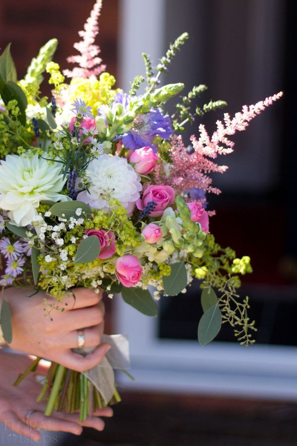 Country Garden Wedding Flowers | Midway Media