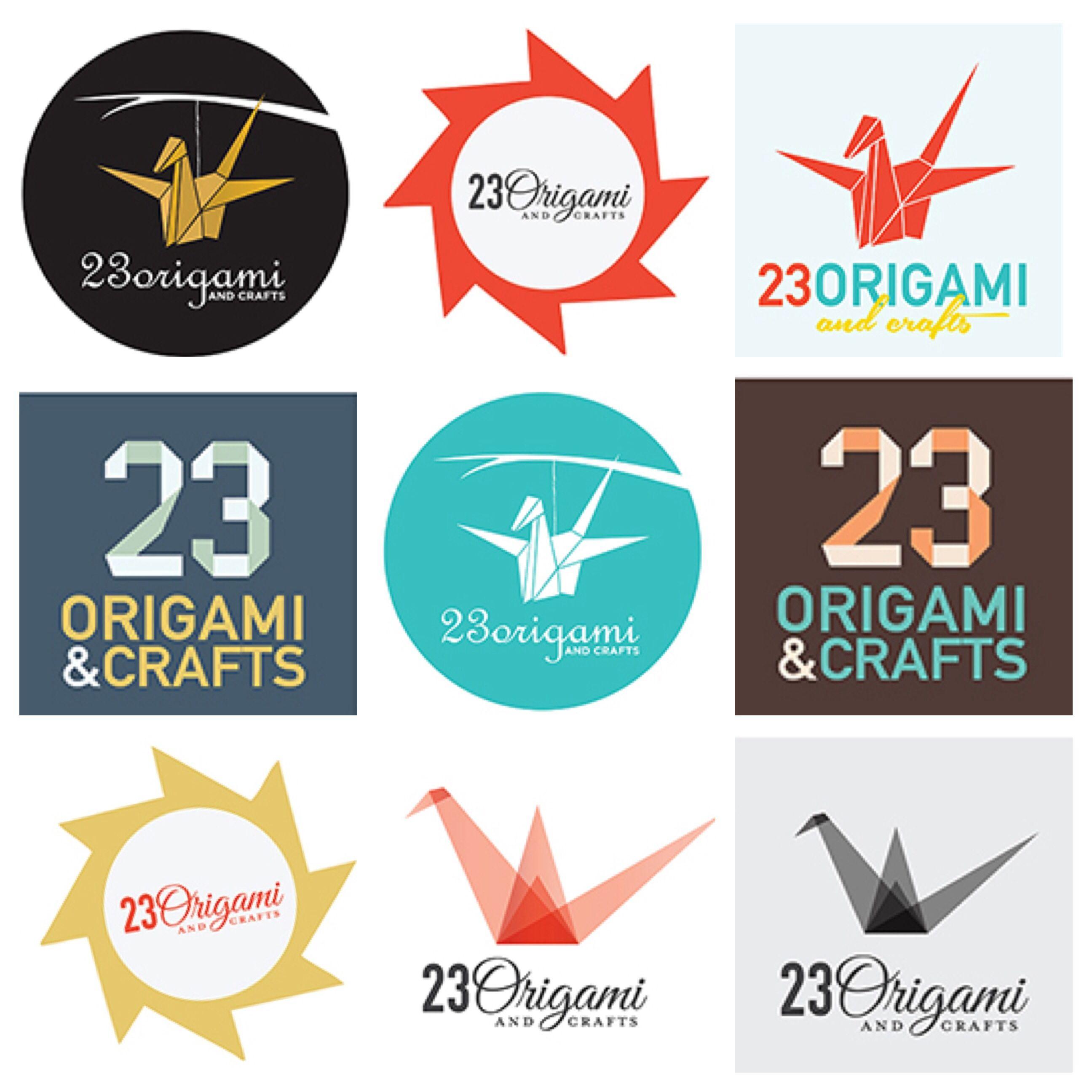 Custom logo design. Origami and crafts logo.  www.eleiinkandpaper.storenvy.com www.facebook.com/eleiinkandpaper