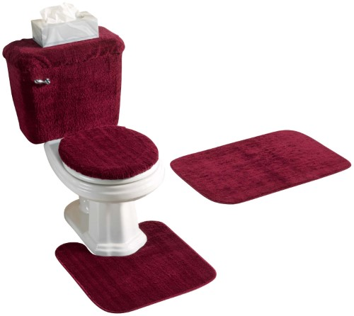 Pin By Lexi M On A J Future Home In 2020 Bathroom Rug Sets Burgundy Bathroom Rugs Bathroom Rugs