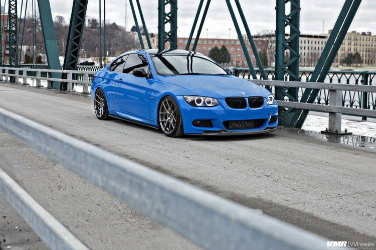 Stunning Santorini Blue Bmw E92 335i Photoshoot With Images