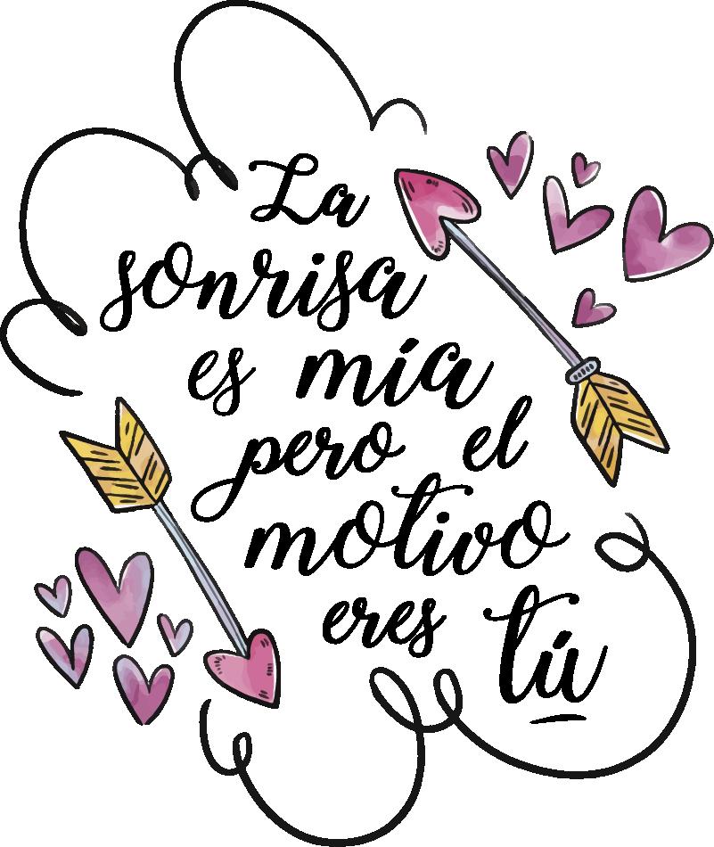 Vinilo Frase De San Valentin Tenvinilo Frases De San Valentin Frases De Santos Frases De Caligrafia