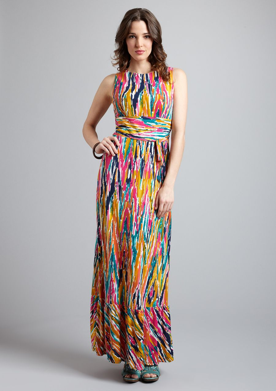 JUST TAYLOR  Wrap Belted Maxi Dress $60