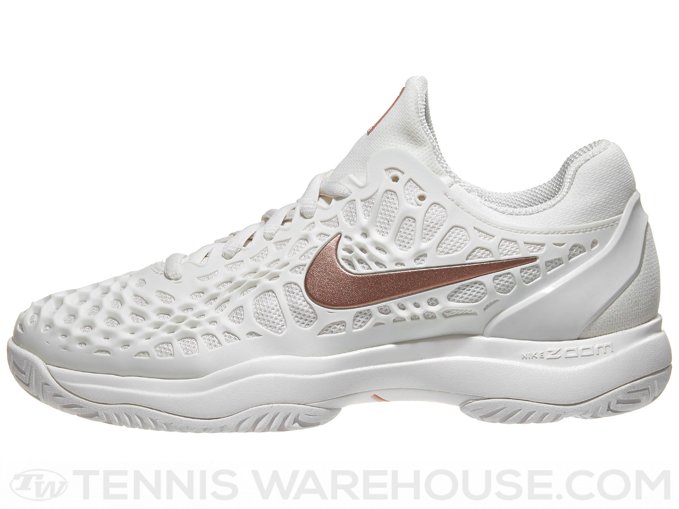 new styles 292b3 39239 Nike Air Zoom Cage 3 Rose Gold Womens Shoe