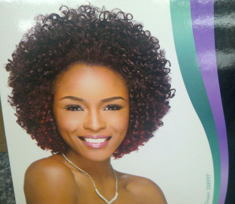Premium Too Shorty Cork Screw Curl 100 Human Premium Blend Hair