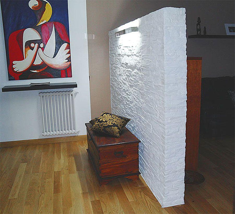 Raumtrenner Stein Optik. Wandgestaltung WohnzimmerSteinwand WohnungenSteineWände