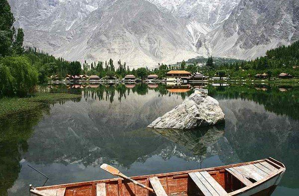 Skardu Skardu Capital Of Baltistan Is Perched Metres Above - Metres above sea level