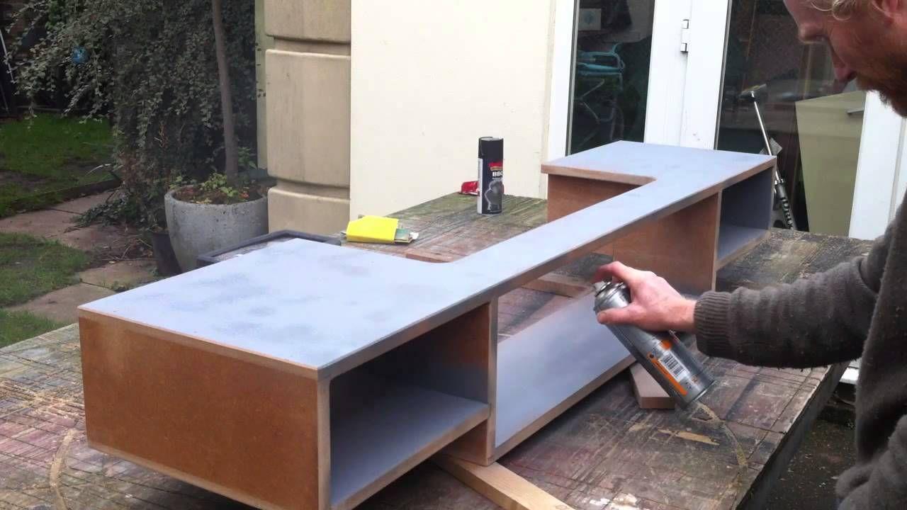 how to make a home recording studio desk | alpi project