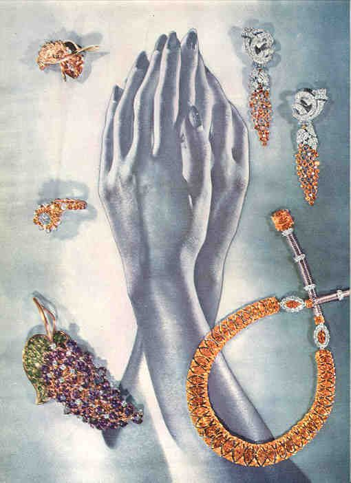 1945 jewelry editorial page