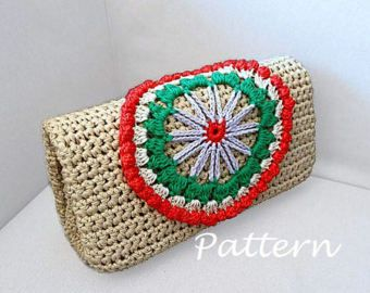 CROCHET PATTERN Crochet Bag Pattern crochet purse pochette