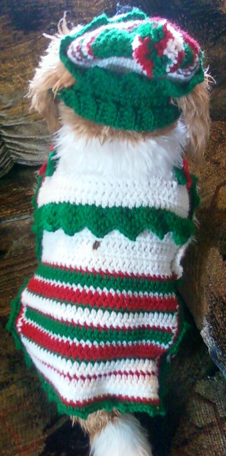 Hand-Crocheted Elf Suit by Toy Togs!