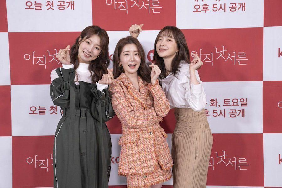 "Jung In Sun, EXID's Hani, And Cha Min Ji Share Their First Impressions Of Each Other On ""How To Be Thirty"""