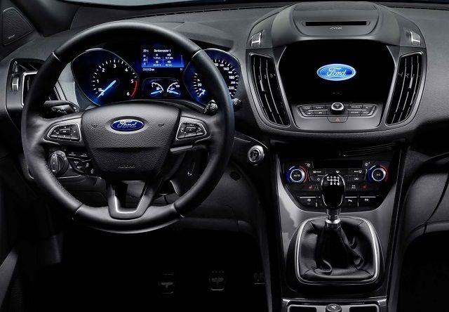 2017 Ford Kuga Interior Interior De Autos Autos Coches