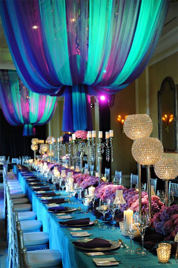 25 Of The Most Beautiful Wedding Reception Decor And Table Settings