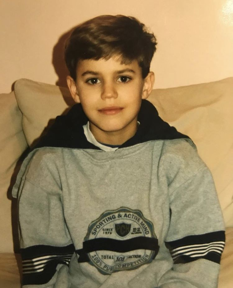 Paul Wesley when he was a kid. in 2019 | Paul wesley ...