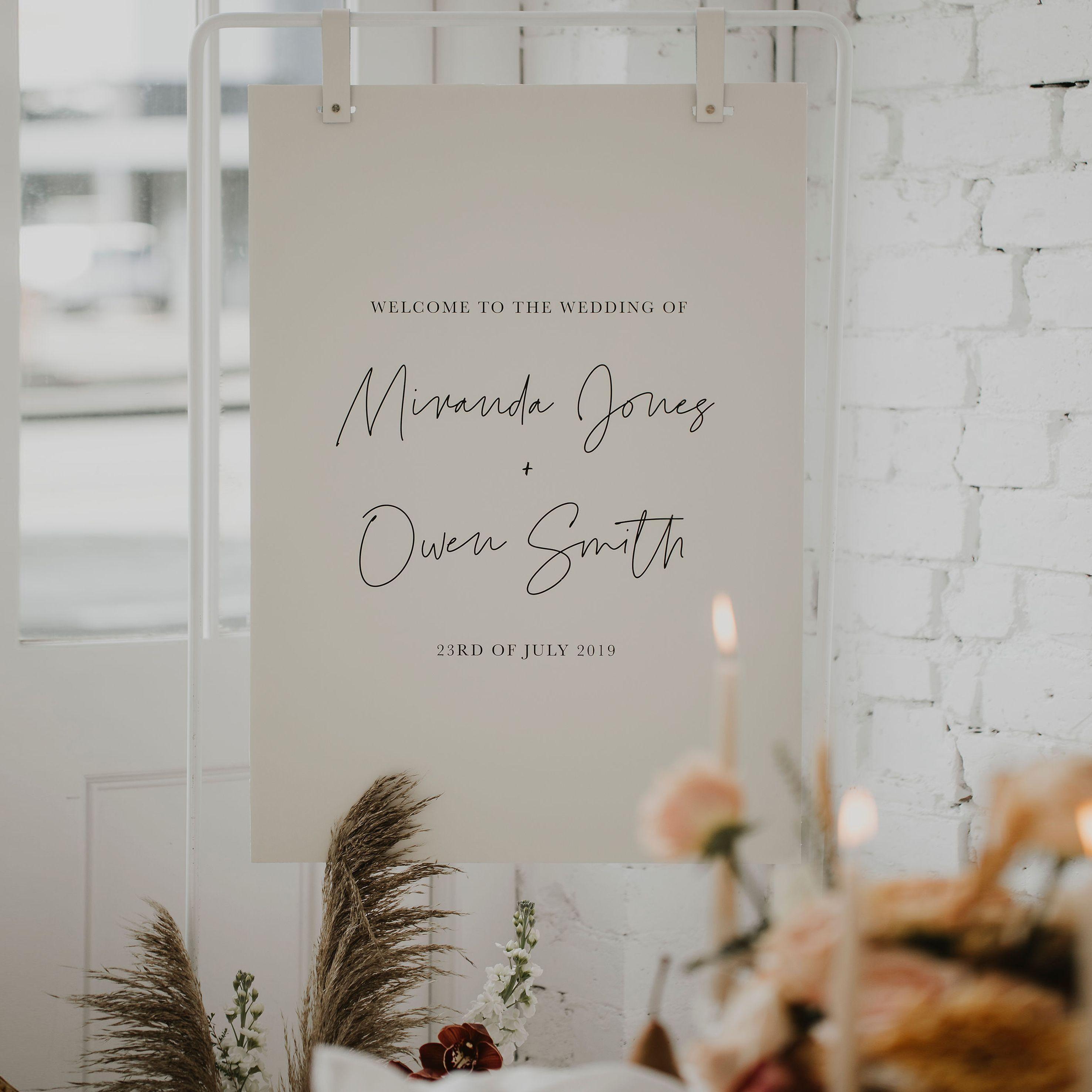 Wedding Sign Wedding signage, Wedding