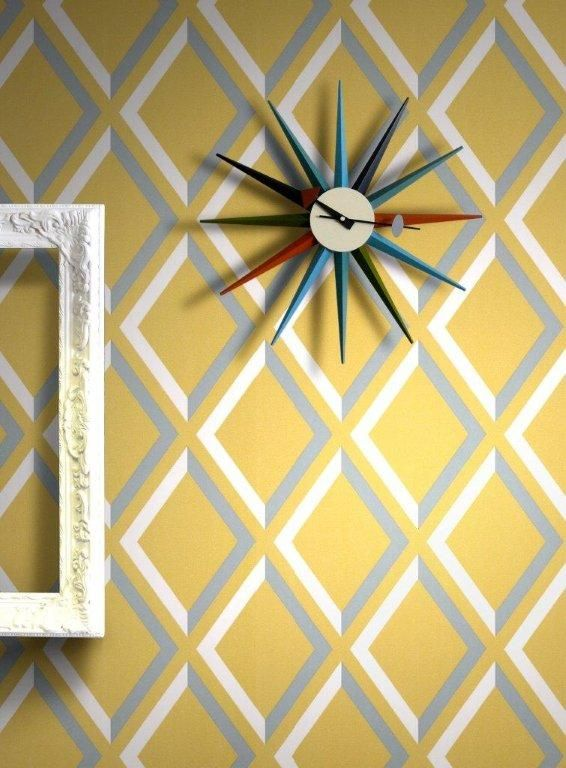 Cole Son Pompeian Wallpaper In Yellow And Grey Want In 2019
