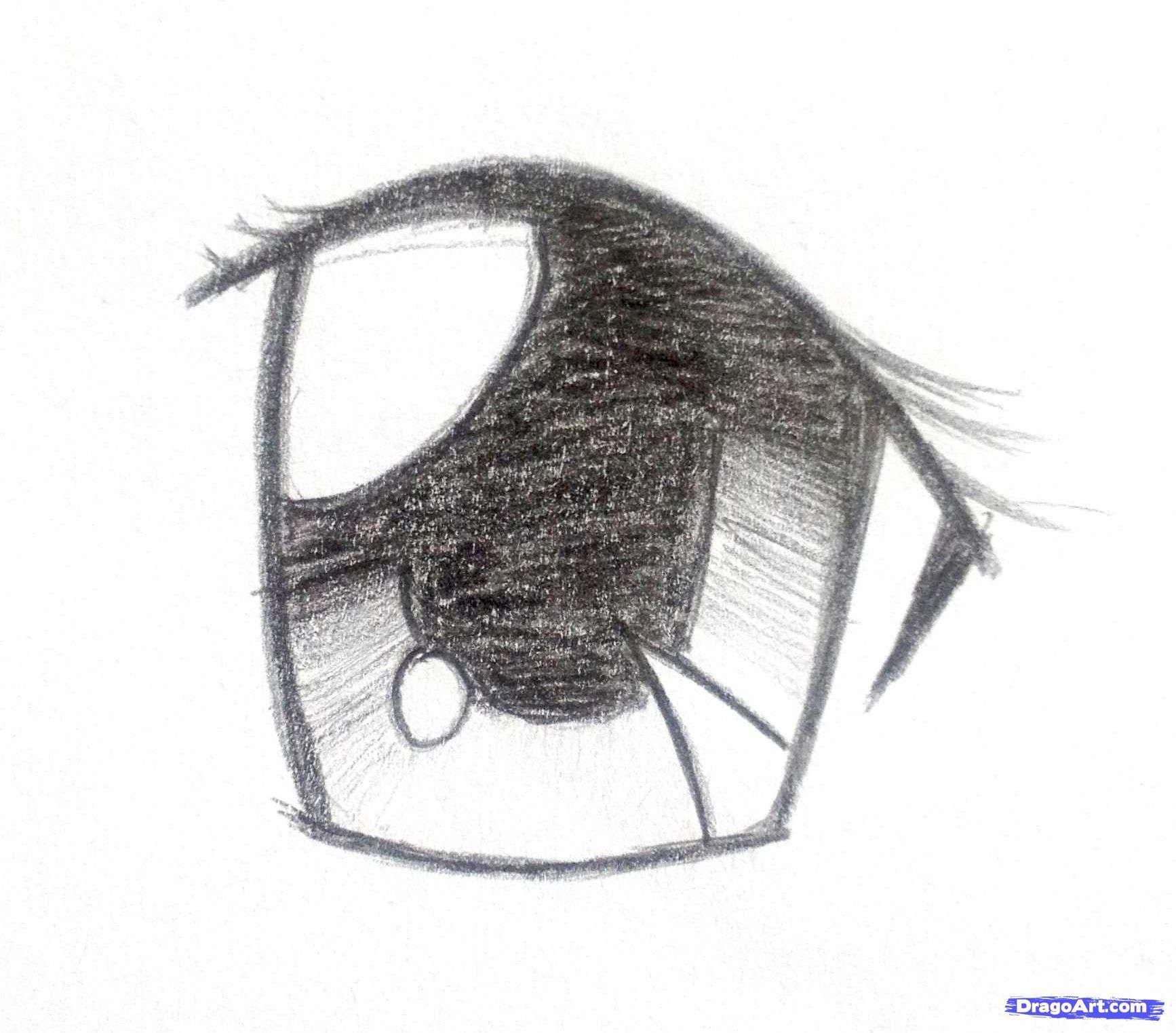 Easy Anime Drawings In Pencil fashionplaceface. ANIME