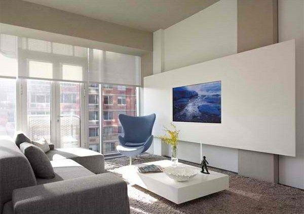 Hochwertig TV Wohnwand Im Modernen Wohnzimmer   15 Inspirierende Beispiele