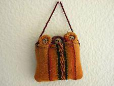 New Peruvian Chancy Doll Pre Columbian Era Replica Clothing Fragments