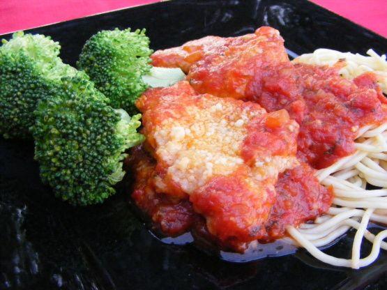 Pioneer Woman Chicken Parmigiana | Recipe | Chicken ...