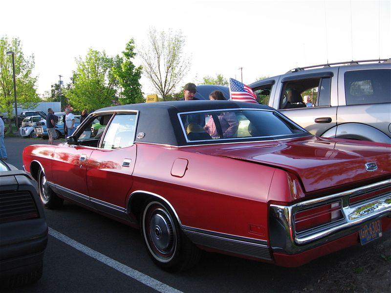 1972 Ltd 4 Door Hardtop Sedan In Red With Black Vinyl Roof Ford