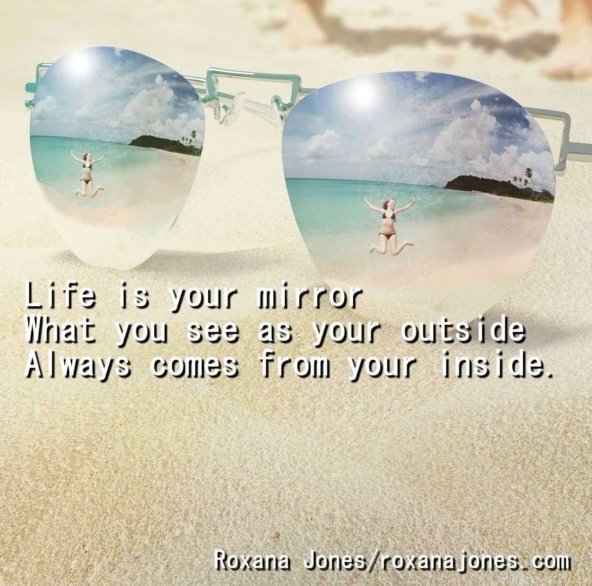 Life Is Your Mirror | Positive quotes, Inspirational quotes ...
