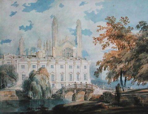 Campilla de Cambridge vista desde las orillas del río