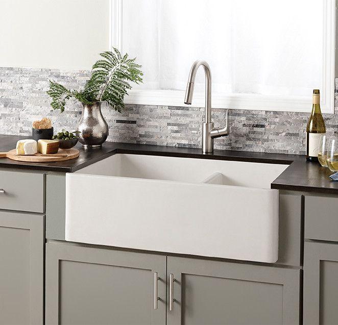 19++ Concrete apron front sink most popular