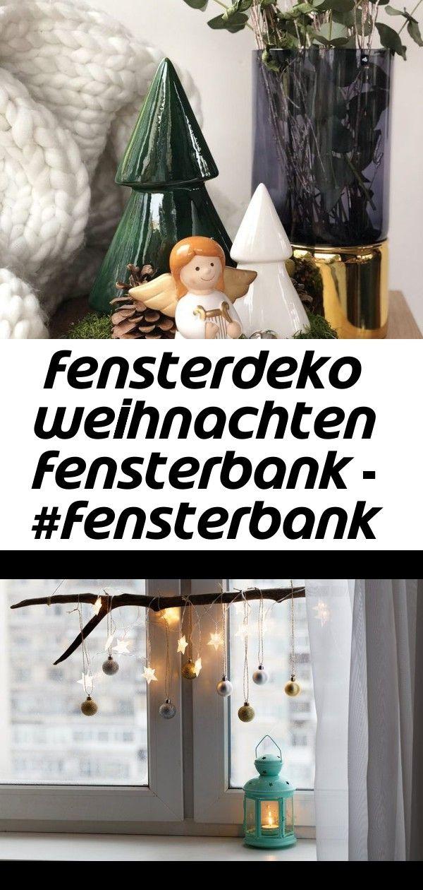 Fensterdeko weihnachten fensterbank - #fensterbank #fensterdeko #weihnachten - #fensterbank #fenst 1 #fensterdekoweihnachten