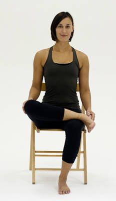 The hip is the largest bone in the body and stores all our emotions - use this posture to release your hips!Come back up to sit.Bring your right ankle to rest on your left thigh, keeping the knee in line with your ankle as much as possible. Hold three to five breaths.You may forward bend to intensify the stretch if you like. Repeat with the left leg up.