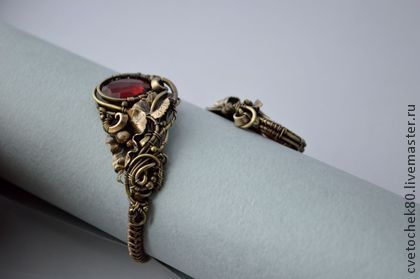 Handmade bracelets.  Fair Masters - handmade bracelet secret desire.  Handmade.