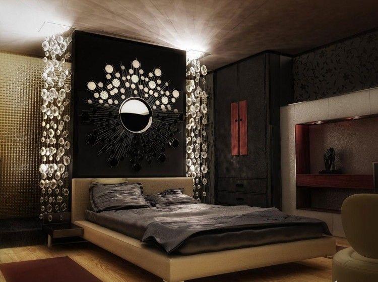 Chambre adulte moderne - idées de design et décoration