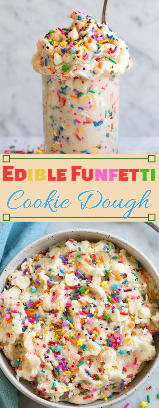 Edible Cookie Dough #desserts #cakes #easy #pumpkin #cookies