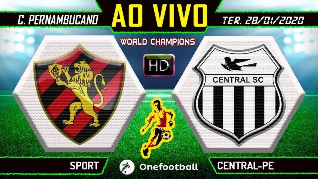 Narração Online de Sport x Central Futebol AO VIVO