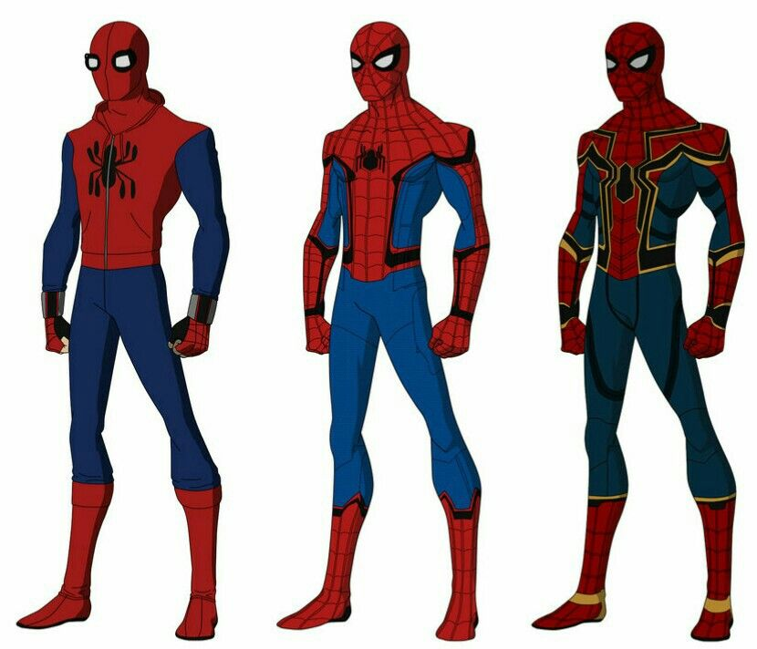 Spider-Man Homecoming    Iron-Spider Avengers Infinity War   Comics ...