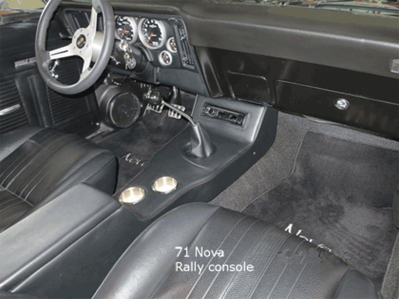 71 Nova Rally Console Chevy Nova Nova Chevy