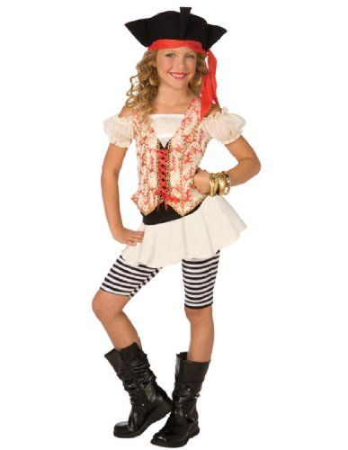 Buyseasons Girls Swashbuckler Child Costume White 46 Sm - halloween girl costume ideas