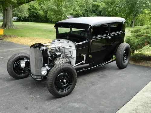 1930 Ford Model A Sedan Hot Rod Street Rod Custom V8 Flathead 1932