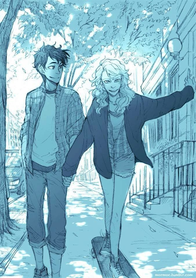 Percy Gets A Skateboard For Christmas Piper Teaches Him How To