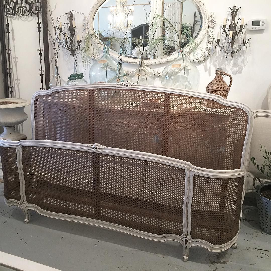 french cane king size bed. Now available