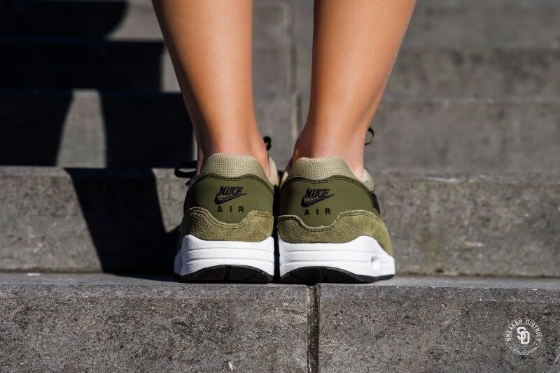 hot sale online 8d8bc d4a0e Nike Air Max 1 Olive Canvas Black-Neutral Olive - 319986-304
