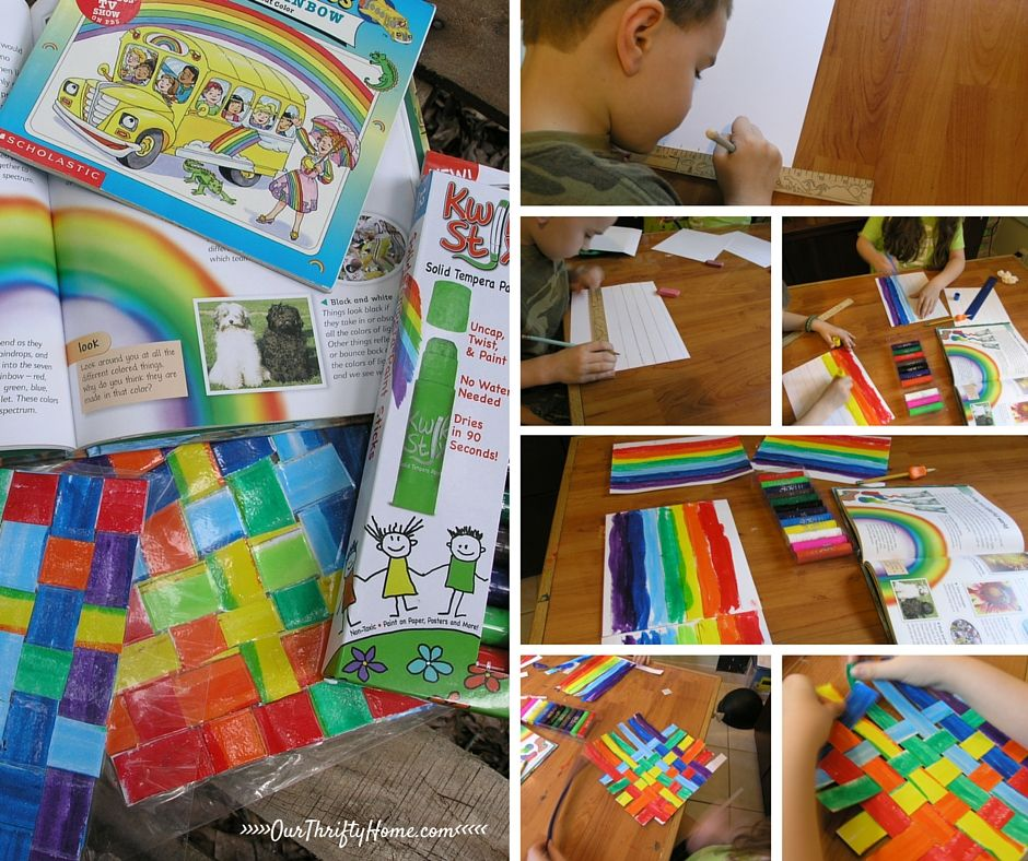 Kwik Stix are a great educational learning tool for homeschool unit studies.